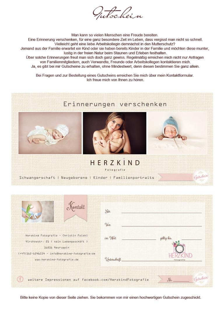 Website Gutschein 2014